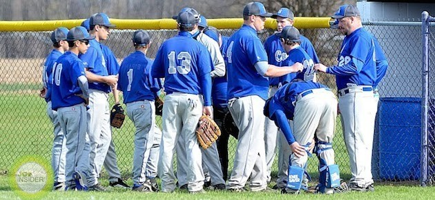 Athens bats beat Burr Oak baseball