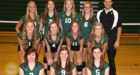 2014 Mendon volleyball