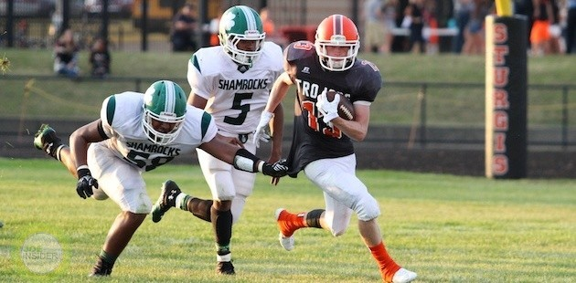 Sturgis football struggles offensively in close loss to Berrien Springs