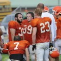 Sturgis football scrimmages