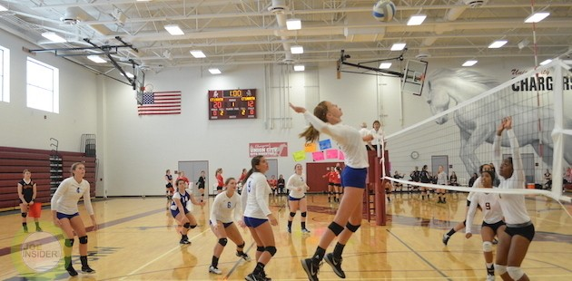 Centreville volleyball nabs Union City title