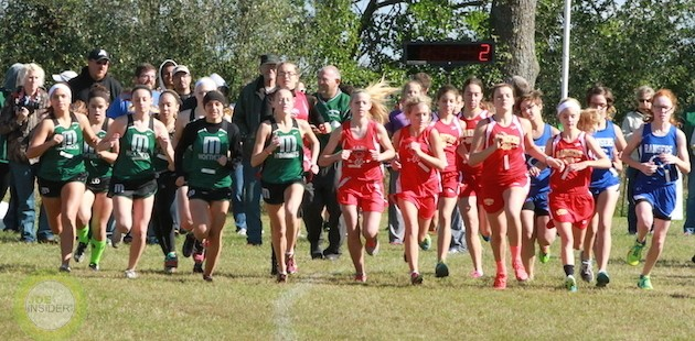 Leighton, Plummer turn in top cross country times at Mendon Invite