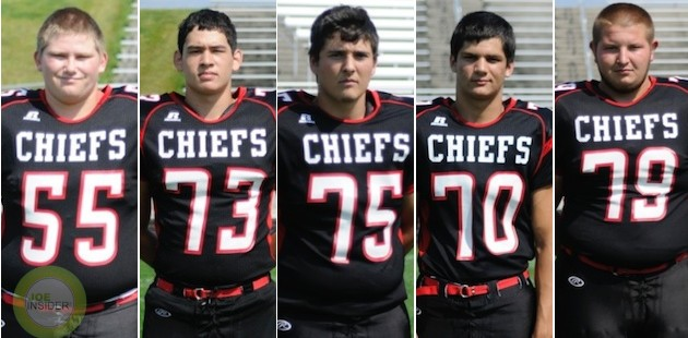 Armstrong International Football Player of the Week: White Pigeon offensive line