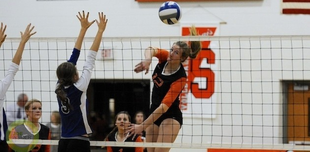 Sturgis volleyball beats Plainwell on Senior Night, finishes second in Wolverine East Division