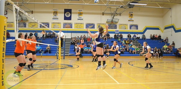 Centreville volleyball bests Bridgman in four games
