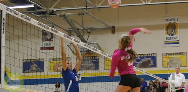 Centreville heads into BCS volleyball tourney on high note after win over New Buffalo
