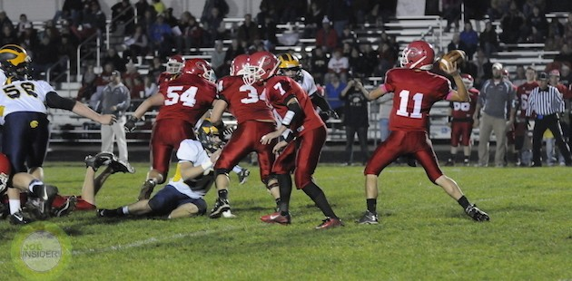Colon football team holds its own against SCAA champ Climax-Scotts in home loss