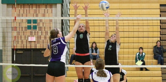 Mendon volleyball reaches Coloma semifinals
