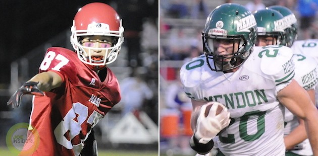 Mendon and Colon meet in Division 8 pre-district game to start football postseason