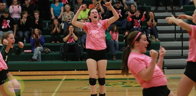 Mendon volleyball finishes strong in victory over visiting Hackett Catholic Central