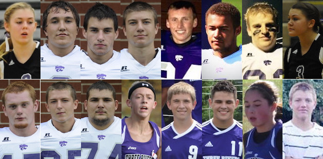 All-Wolverine Conference fall sports lists littered with Three Rivers athletes