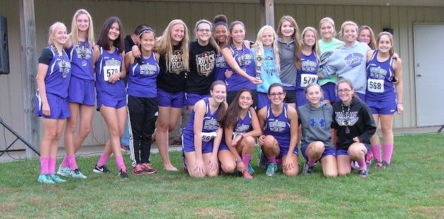Three Rivers girls cross country rocks out in win at Dowagiac, Wildcat boys second