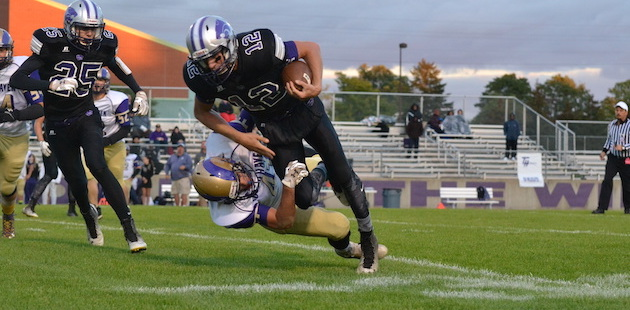 Three Rivers claws past South Haven in down-to-the-wire Wolverine football game