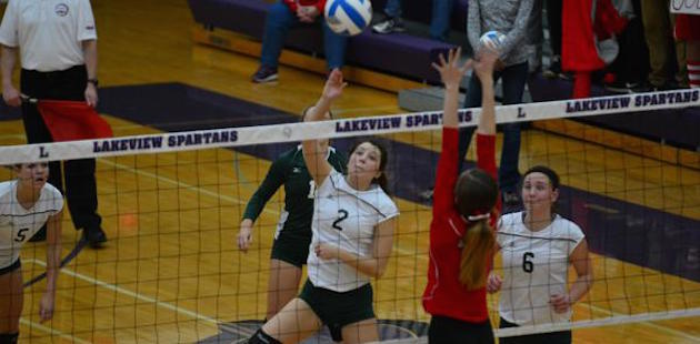 Defending champ St. Philip bests Mendon in Class D volleyball state quarterfinals