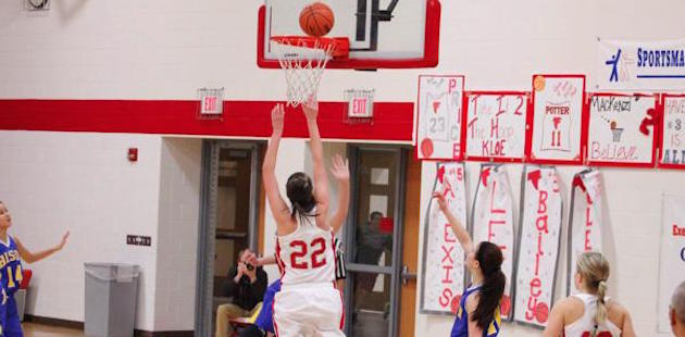 Constantine girls control Wednesday's basketball game vs. New Buffalo from start to finish