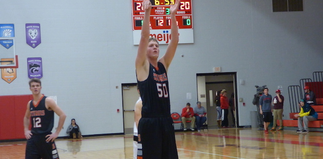 Schuller, Adams and Polzin reach double figures in Sturgis' win at Vicksburg