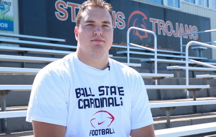 Video: Sturgis grad Drake Miller set to begin final football season at Ball State