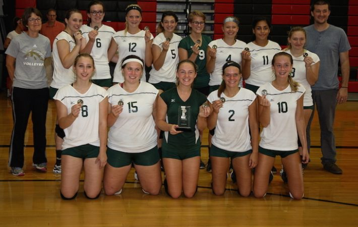 St. Joseph County Volleyball Tournament Roundup: Mendon tops Three Rivers in championship